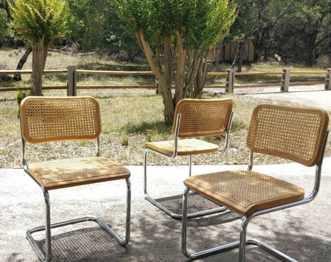 Early Thonet Cesca Chairs Made In Poland - Marcel Breuer