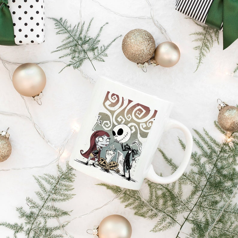 The Nightmare Before Christmas Mug Coffee Tea Design On Both Sides Ceramic Mug Mom Gift Christmas Gift Box Included