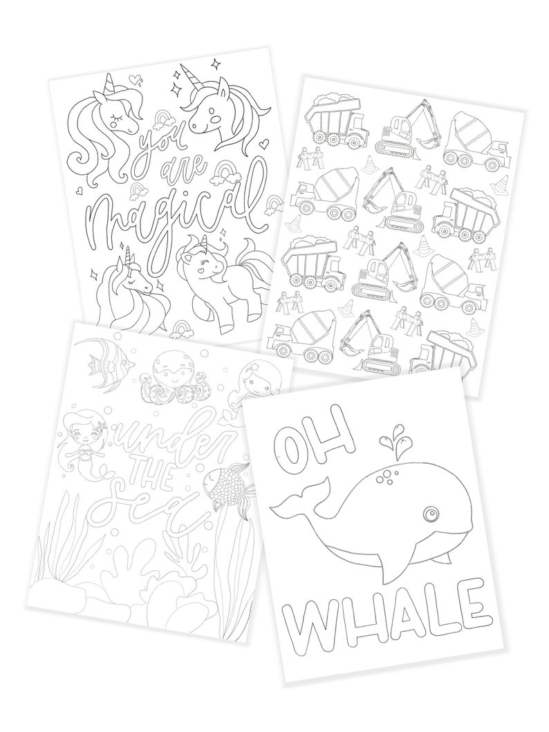 Coloring Pages  Pack One image 0