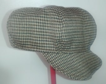 new homemade newborn newsboy cap