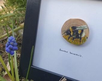 Tiny Bumblebee painting