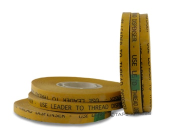 """1/4"""" (6 rolls) ATG Adhesive Transfer Tape (Fits 3M Gun) For Photo Crafts & Scrapbooking (6 rolls) - Free Shipping Within USA"""