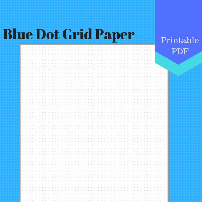 It's just a graphic of Accomplished Dot Grid Printable