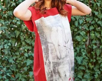 04baa4bb42ce Straight linen dress