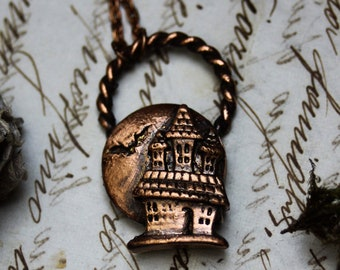 Haunted mansion necklace