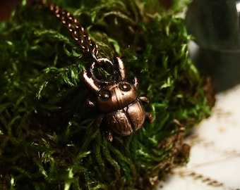 Mini bug necklace