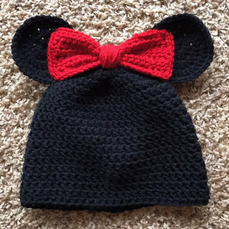 Minnie Mouse Inspired Hat Minnie Mouse Beanie Adult Hat Teen Hat Child Hat  Baby ... Minnie Mouse Inspired Hat Minnie Mouse Beanie Adult Hat Teen Hat  Child ... 5bc6f1e1d16d