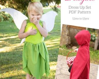 Imagine Dress Up PDF Sewing Pattern