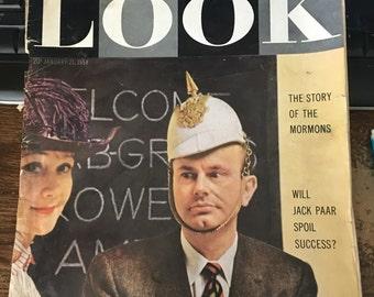 LOOK Magazine January 21, 1958