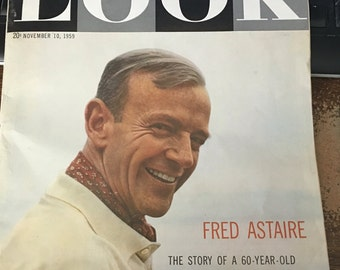 November 10, 1959 LOOK  Magazine The West Central Edition