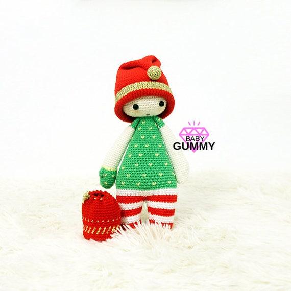 Ayudante de Santa claus. Amigurumi pattern. Patrón amigurumi. | Etsy