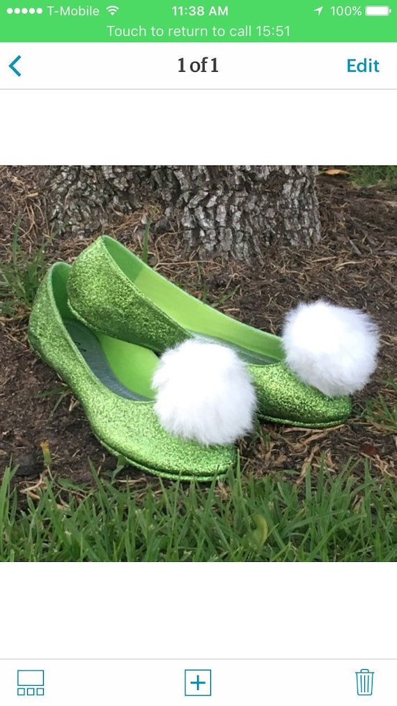 Tinkerbell shoes Child | Etsy