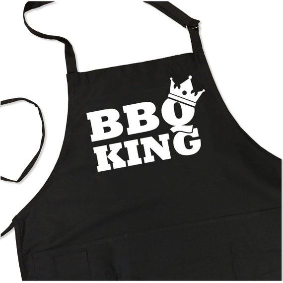 Grandpas Grilling Kitchen Apron Adjustable Funny Mens Fathers Grandfathers Gift