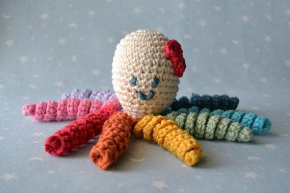 Amigurumi Tintenfisch Krake Häkeln Octopus Baby Etsy