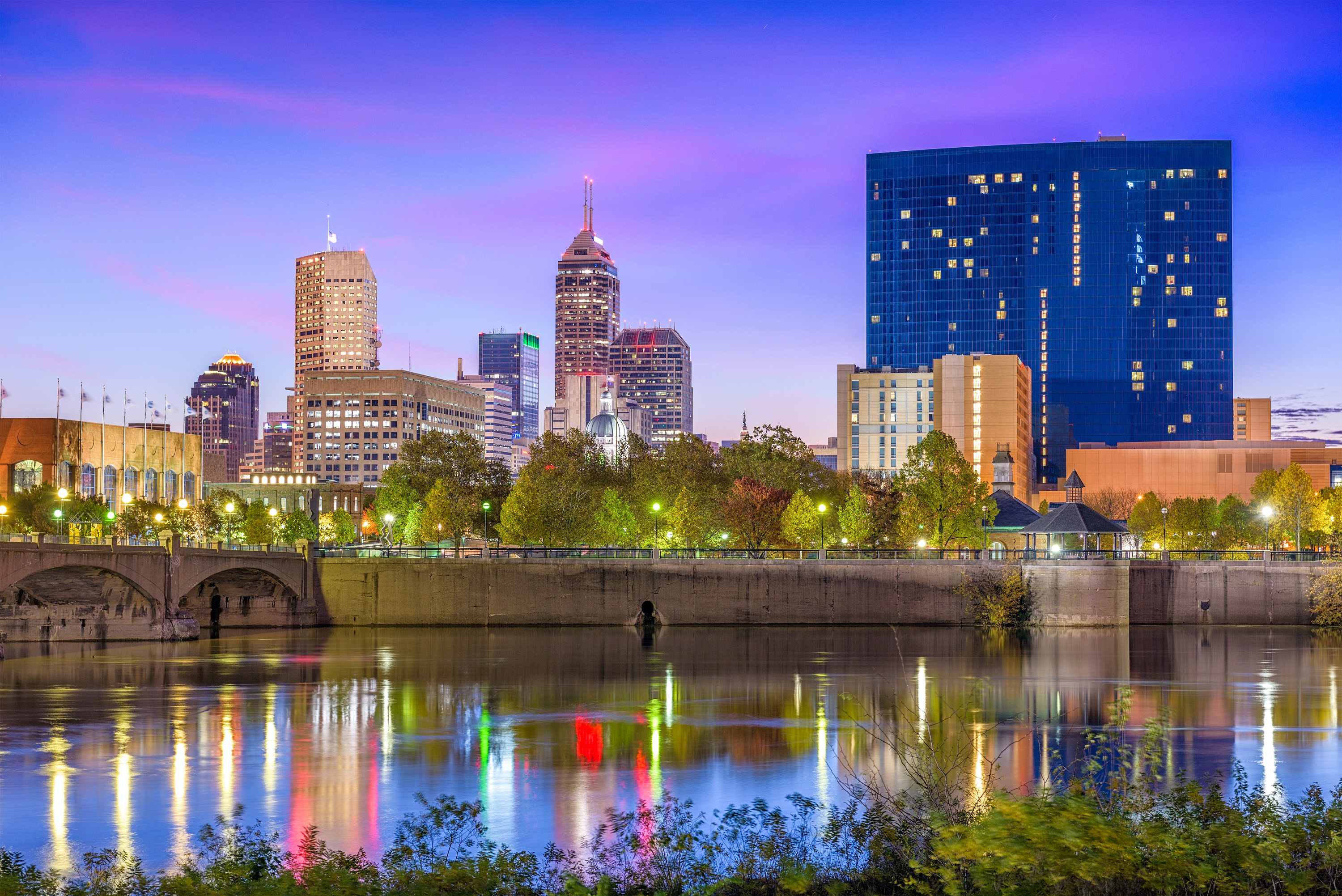The Indiana Insider Blog: Indianapolis Canvas, Indianapolis Skyline, Indianapolis