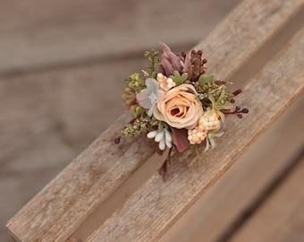 Summer flower ring for bride