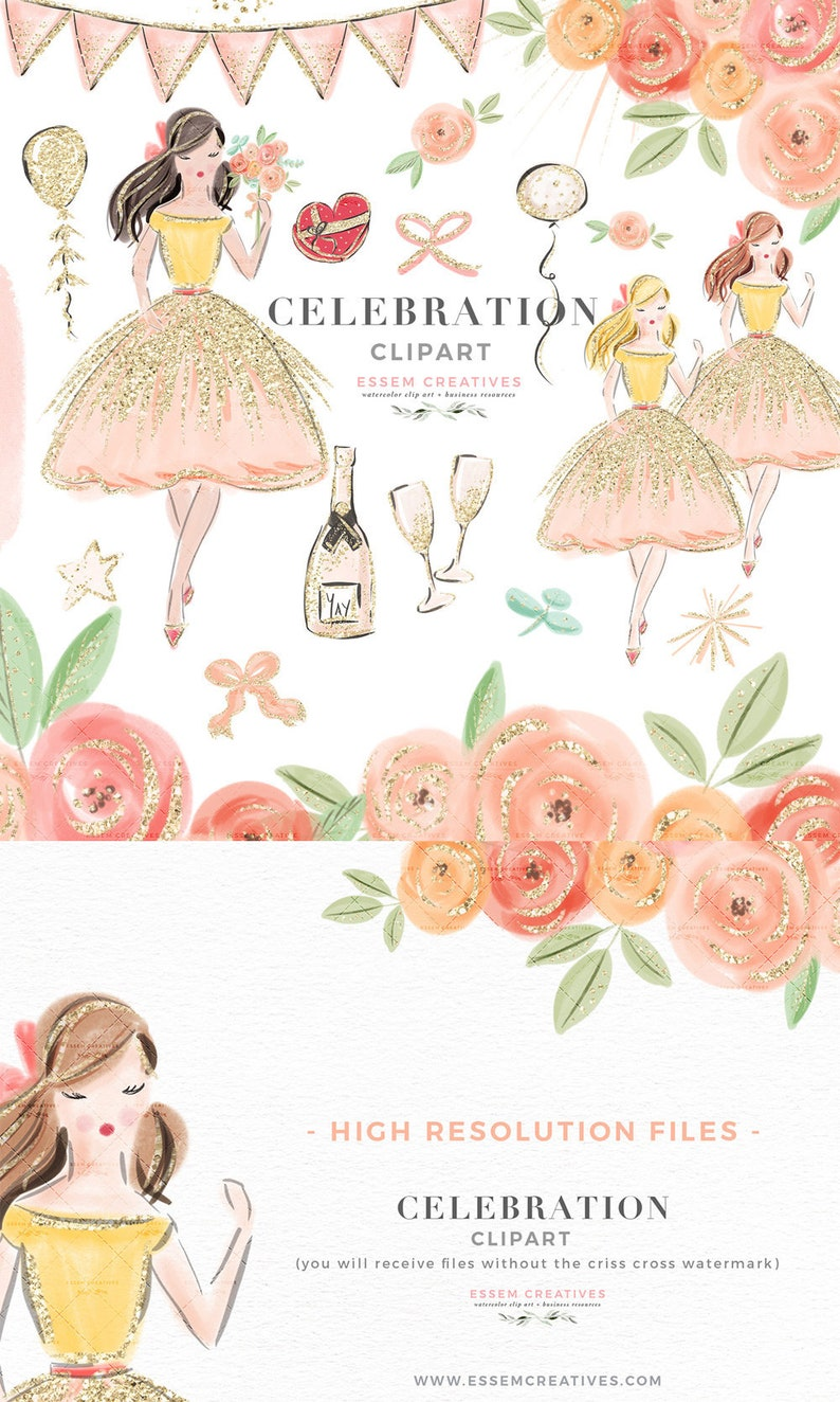 Diary Stickers Peony Bouquet Clipart Wedding DIY Pack Green Peach Clipart Pastel Peach Peony Watercolor Frame Pastel Flower Clip Art