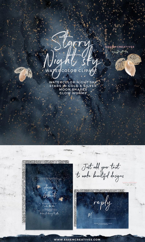starry sky background.html