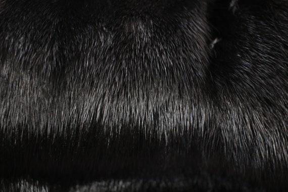 1980s-1990s black mink fur coat {Vintage mink fur… - image 10