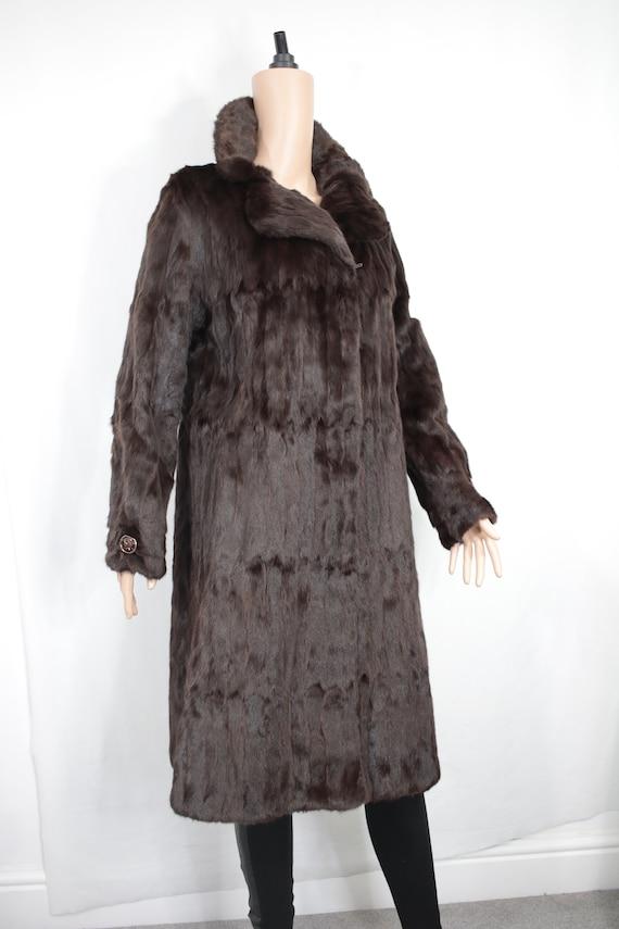 1970s squirrel fur coat {Vintage fur coat/real fu… - image 3