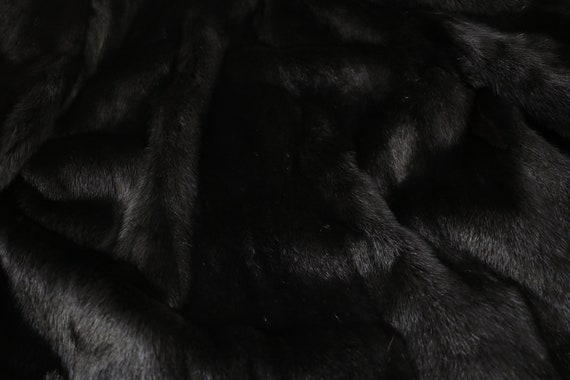 1980s-1990s black mink fur coat {Vintage mink fur… - image 8