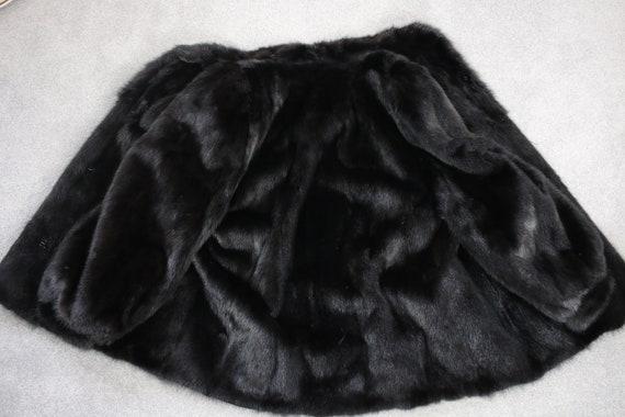 1980s-1990s black mink fur coat {Vintage mink fur… - image 7