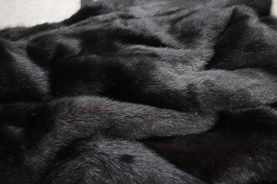 1980s-1990s black mink fur coat {Vintage mink fur… - image 9