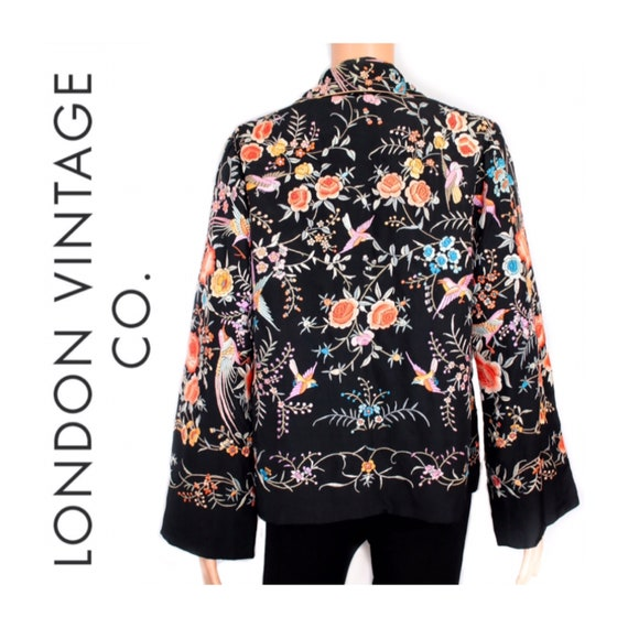 1920s-1930s Chinese embroidered jacket {Antique ja