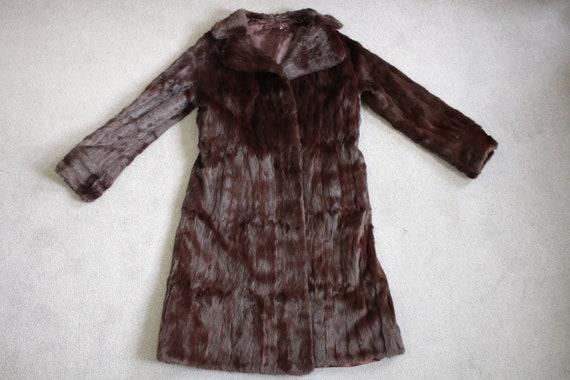 1970s squirrel fur coat {Vintage fur coat/real fu… - image 6