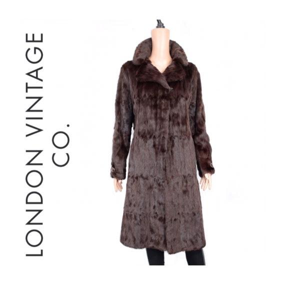1970s squirrel fur coat {Vintage fur coat/real fur