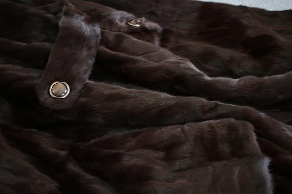 1970s squirrel fur coat {Vintage fur coat/real fu… - image 9