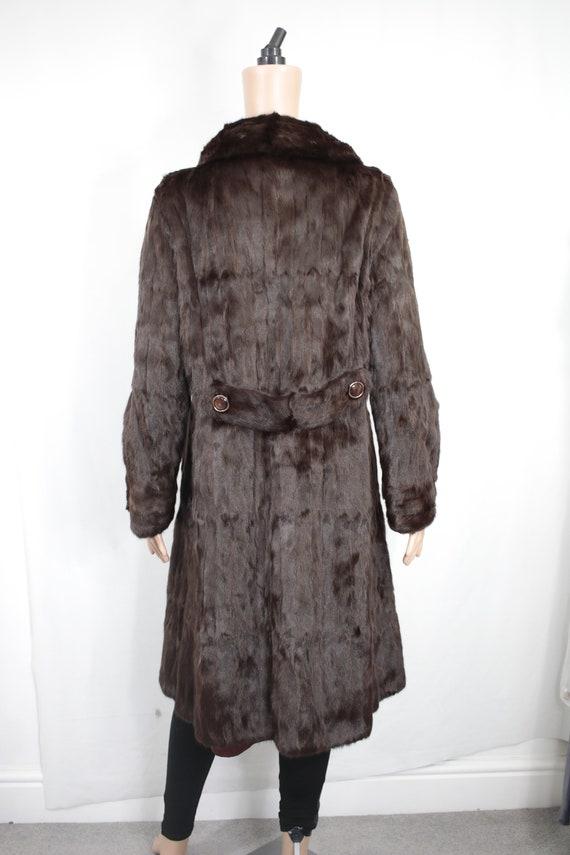 1970s squirrel fur coat {Vintage fur coat/real fu… - image 4
