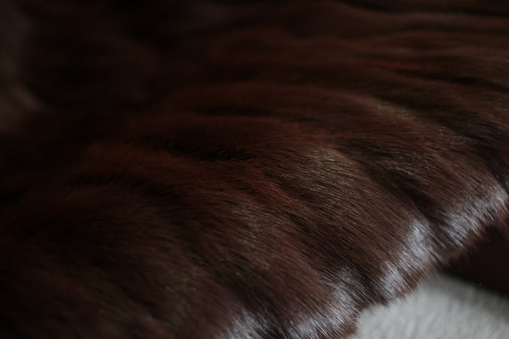 1970s squirrel fur coat {Vintage fur coat/real fu… - image 10