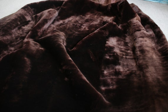 1960s-1970s brown mouton fur vest {Real fur/vinta… - image 9