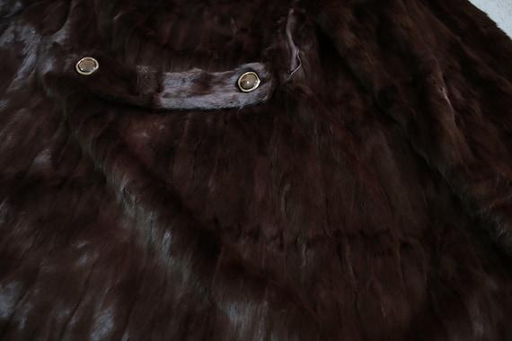 1970s squirrel fur coat {Vintage fur coat/real fu… - image 8