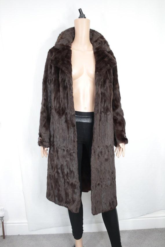 1970s squirrel fur coat {Vintage fur coat/real fu… - image 2