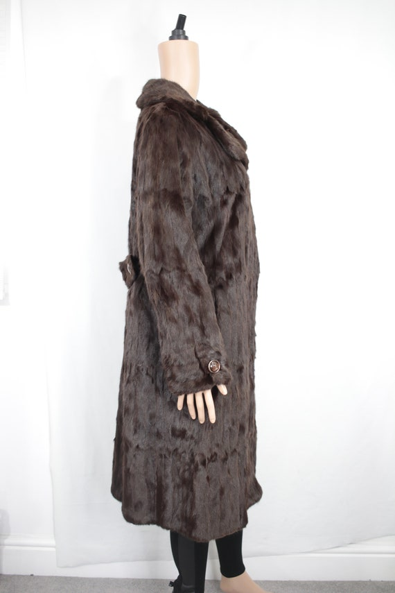 1970s squirrel fur coat {Vintage fur coat/real fu… - image 5