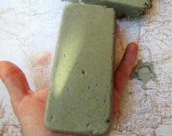 Himalayan salt and green clay soap