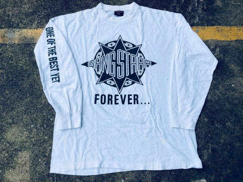 27b13053 VTG Gang Starr Forever One of the Best Yet Longsleeve T-Shirt | Etsy