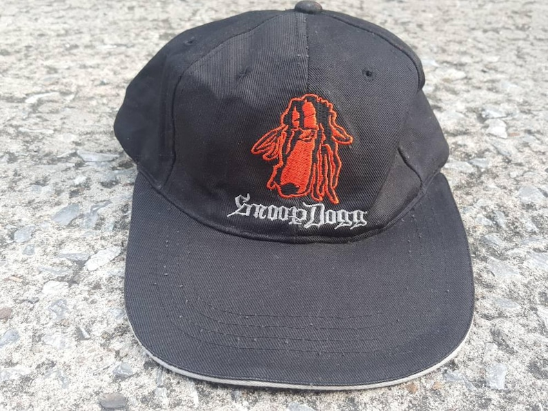 e0c0b33121a84 VTG Snoop Dogg 90s Thrifted by 90s TPT Cap Snapback Thrifted