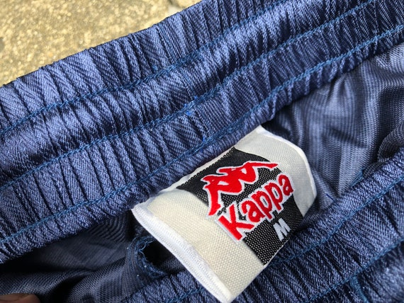 VTG KAPPA Trackpants Side Zip Hide Logo 90s Thrif… - image 9