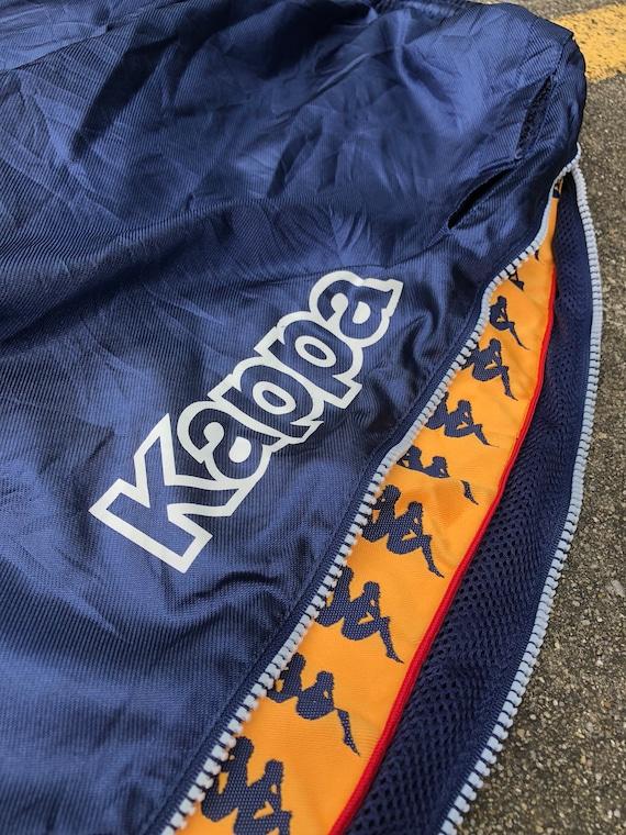 VTG KAPPA Trackpants Side Zip Hide Logo 90s Thrif… - image 6