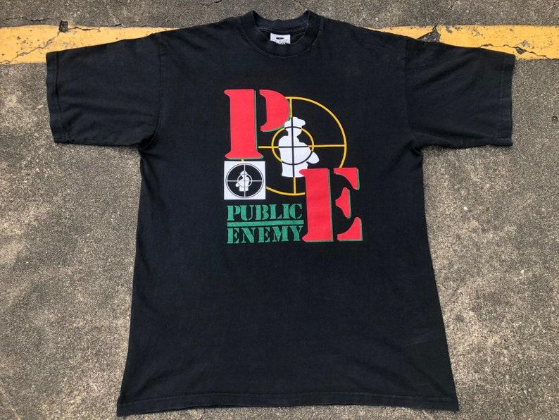 c925c739 VTG Public Enemy What Side You On Concert Promo T-Shirt | Etsy
