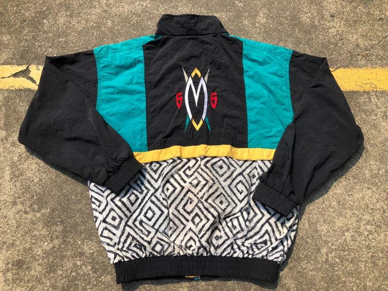 90s Adidas Mutombo Hooded Shirt