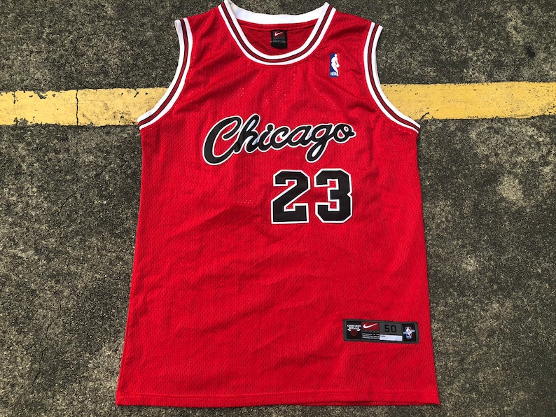factory price 45402 b67e3 VTG Nike Michael Jordan Chicago Bulls Jersey Thrifted by 90s_TPT