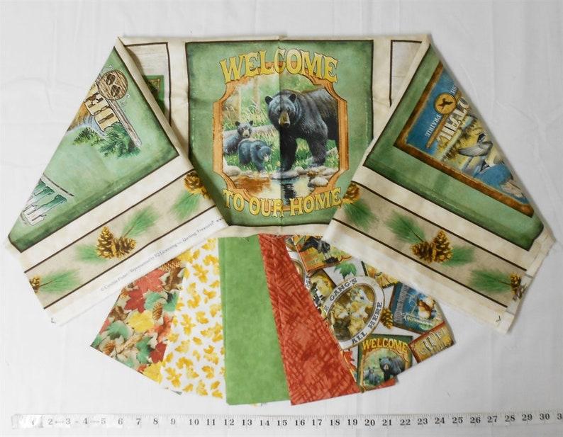 Fabric Bundle 4186-Northwoods Panel 23x42/plus 5 image 0
