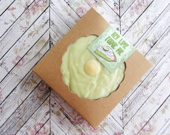 Key Lime Fudge Pie ~ Key Lime Fudge ~ Mini Fudge Pie ~ Shortbread ~ Party Favor ~ Wedding Favor