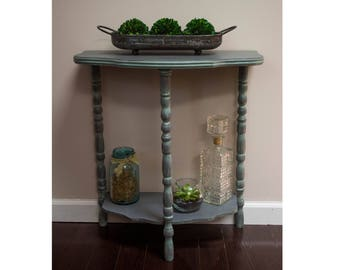 ON SALE-Restored Crescent Table