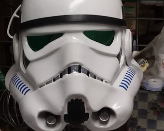 Completed ANH Stormtrooper Armor With Stunt Helmet! No Boots, No Blaster