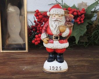 Vintage Memories of Santa 1898 Collectors Club Membership Boxed Ornament Tree Trimming Christmas Decor Collectible Figurine